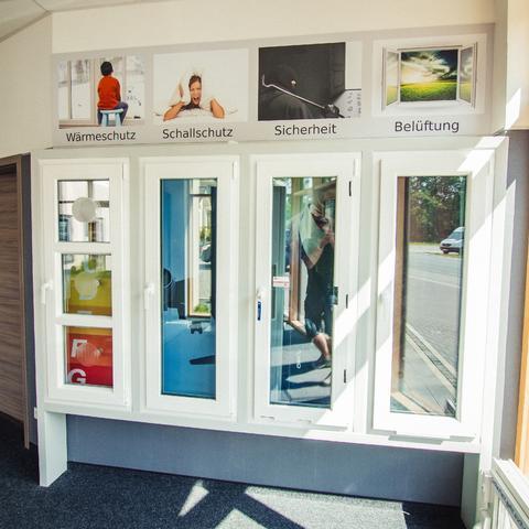 Unsere exklusive Ausstellung - EGGE Fenstertechnik