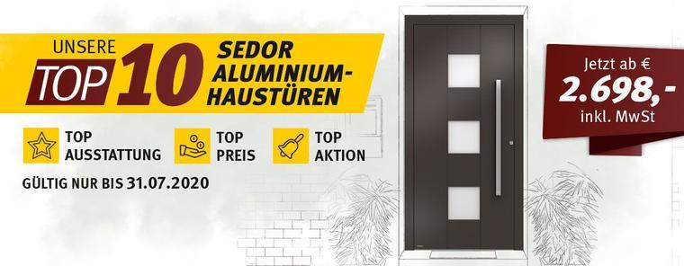 Top 10 Sedor Aluminiumhaustüren